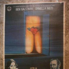 Cine: ORDINARIA LOCURA. BEN GAZZARA, ORNELLA MUTI. AÑO 1982.. Lote 34355390