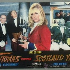 Cine: PX40 FANTOMAS CONTRA SCOTLAND YARD LOUIS DE FUNES SET DE 10 POSTERS ORIGINAL ITALIANO 47X68. Lote 34359659