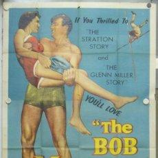 Cine: XH20D THE BOB MATHIAS STORY JUEGOS OLIMPICOS DECATLON DECATHLON POSTER ORIGINAL USA 3 HOJAS 105X210. Lote 34360272