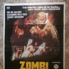 Cinéma: ZOMBI HOLOCAUSTO. IAN MC CULLOCH, ALEXANDRA DELLI COLLI, SHERRY BUCHANAN. AÑO 1980.. Lote 116343435
