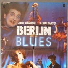 Cine: BERLIN BLUES, CARTEL DE CINE ORIGINAL 70X100 APROX (4305). Lote 34387948
