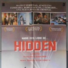 Cine: HIDDEN, CARTEL DE CINE ORIGINAL 70X100 APROX (4363). Lote 34396422