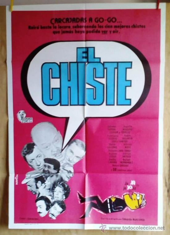 EL CHISTE (Cine - Posters y Carteles - Comedia)