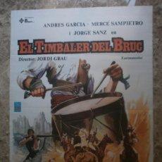 Cine: EL TIMBALER DEL BRUC. ANDRES GARCIA, MERCE SAMPIETRO, JORGE SANZ. AÑO 1981.. Lote 118880228