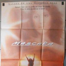 Cine: MASCARA,CHER CARTEL DE CINE ORIGINAL 70X100 APROX (4648). Lote 34452390