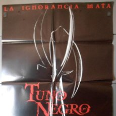 Cine: TUNO NEGRO (PROXIMAMENTE), CARTEL DE CINE ORIGINAL 70X100 APROX (4654). Lote 34452430