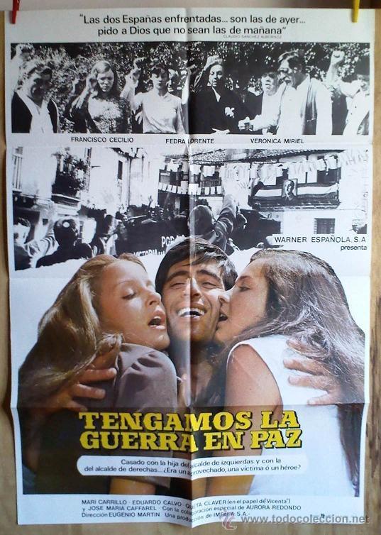 TENGAMOS LA GUERRA EN PAZ (Cine - Posters y Carteles - Comedia)