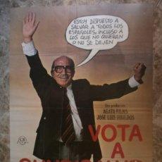 Cine: VOTA A GUNDISALVO. ANTONIO FERRANDIS, EMILIO GUTIERRES CABA, SILVIA TORTOSA. AÑO 1977.. Lote 34464893
