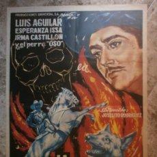 Cine: LA CALAVERA NEGRA. LUIS AGUILAR, ESPERANZA ISSA, IRMA CASTILLON. AÑO 1964.. Lote 34481629