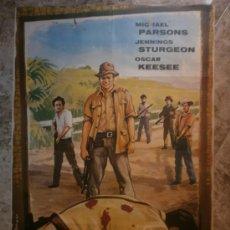 Cine: LOS GUERRILLEROS DE LEYTE. MICHAEL PARSONS, JENNINGS STURGEON, OSCAR KEESEE. AÑO 1965.. Lote 34481717