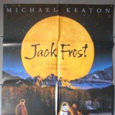 Cine: JACK FROST,CARTEL DE CINE ORIGINAL 70X100 CM CON ALGUN DEFECTO A 1€,VER FOTO (3951). Lote 34499257