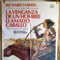 Cine: LA VENGANZA DE UN HOMBRE LLAMADO CABALLO. Lote 34508826