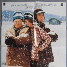 Cine: DOS VIEJOS GRUÑONES,JACK LEMMOND, WALTER MATTHAU CARTEL DE CINE ORIGINAL 70X100 APROX (4807). Lote 34515283