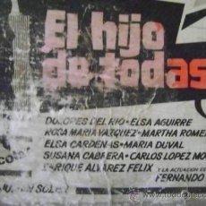 Cine: LOBBY CARD: EL HIJO DE TODAS. Lote 34608674