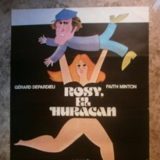 Cine: ROSY, EL HURACAN. GERARD DEPARDIEU, FAITH MINTON. AÑO 1980.. Lote 34538681