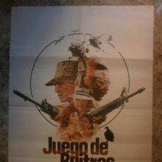 Cine: JUEGO DE BUITRES. RICHARD HERRIS, RICHARD ROUNDTREE. AÑO 1979. Lote 206808711