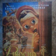 Cine: PINOCHO. MARTIN LANDAU, JONATHAN TAYLOR THOMAS. . Lote 34555440