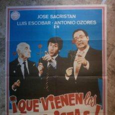 Cine: ¡ QUE VIENEN LOS SOCIALISTAS ! JOSE SACRISTAN, LUIS ESCOBAR, ANTONIO OZORES. AÑO 1982.. Lote 72635261