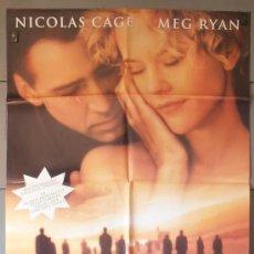 Cine: CITY OF ANGELS,NICOLAS CAGE, MEG RYAN CARTEL DE CINE ORIGINAL 70X100 APROX (4984). Lote 34560050