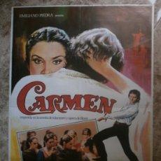 Cine: CARMEN. CARLOS SAURA, ANTONIO GADES, LAURA DEL SOL. AÑO 1983.. Lote 34568953