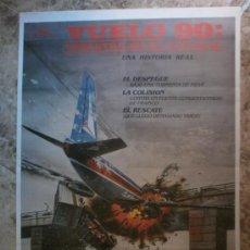 Cine: VUELO 90 : DESASTRE EN EL POTOMAC. JEANETTA ARNETT, BARRY CORBIN, STEPHEN MACHT.. Lote 85421056
