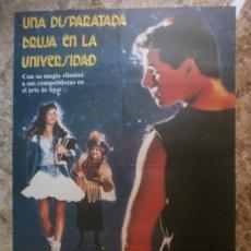 Cine: UNA DISPARATADA BRUJA EN LA UNIVERSIDAD - ROBYN LIVELY, ZELDA RUBINSTEIN, DAN GAUTHIER - AÑO 1989. Lote 158427264