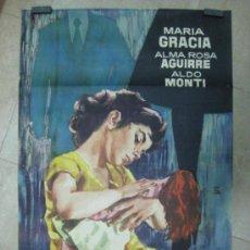 Cine: LOS HIJOS AJENOS - MARIA GRACIA, ALMA ROSA AGUIRRE, ALDO MONTI - MONTALBAN, AÑO 1961. Lote 34617789