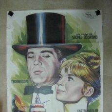Cine: COMO CASARSE CON UN PRIMER MINISTRO - JEAN-CLAUDE BRIALY, PASCALE PETIT - VM. YANET, AÑO 1965. Lote 34618442