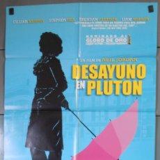 Cine: DESAYUNO EN PLUTON, CARTEL DE CINE ORIGINAL 70X100 APROX (5514). Lote 34648648