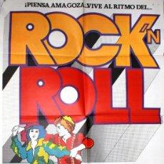 Cine: CARTEL DE CINE GRANDE DE LA PELICULA ROCK ROLL. Lote 34897930
