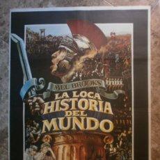 Cine: LA LOCA HISTORIA DEL MUNDO. MEL BROOKS', DOM DELUISE, MADELINE KAHN. AÑO 1981.. Lote 34658367