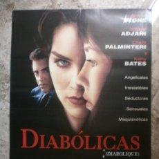 Cine: DIABOLICAS. SHARON STONE, ISABELLE ADJANI, CHAZZ PALMINTERI, KATHY BATES. AÑO 1994.. Lote 34672370