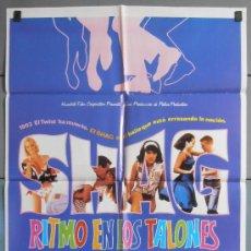 Cine: SHAG RITMO EN LOS TALONES, CARTEL DE CINE ORIGINAL 70X100 APROX (5717). Lote 34672551