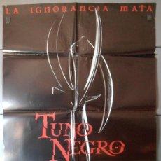 Cine: TUNO NEGRO (PROXIMAMENTE),CARTEL DE CINE ORIGINAL 70X100 CM CON ALGUN DEFECTO A 1€,VER FOTO (4655). Lote 34686280
