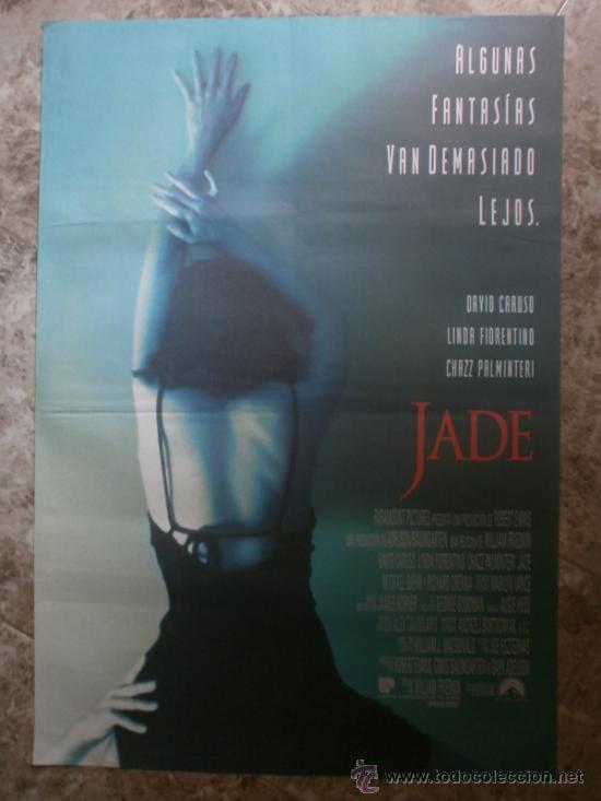 JADE. DAVID CARUSO, LINDA FIORENTINO, CHAZZ PALMINTERI. AÑO 1995. (Cine - Posters y Carteles - Suspense)