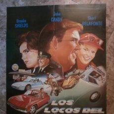 Cine: LOS LOCOS DEL CANNONBALL III. BROOKE SHIELDS, JOHN CANDY, SHARI BELAFONTE.. Lote 34697975