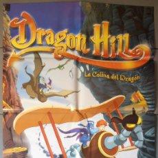 Cine: DRAGON HILL, CARTEL DE CINE ORIGINAL 70X100 APROX (5896). Lote 34731882