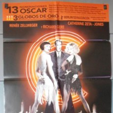 Cine: CHICAGO,RICHARD GERE, CATHERINE Z JONES CARTEL DE CINE ORIGINAL 70X100 APROX (5925). Lote 34732134
