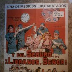 Cine: Y DEL SEGURO...¡ LIBRANOS, SEÑOR ! JUANJO MENENDEZ, ANTONIO GAMERO, ALFONSO CABEZA. AÑO 1983.. Lote 34747753