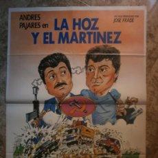 Cine: LA HOZ Y EL MARTINEZ. ANDRES PAJARES, SILVIA TORTOSA. AÑO 1984. Lote 288466873