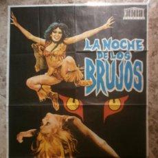 Cine: LA NOCHE DE LOS BRUJOS - SIMON ANDREU, KALI HANSA, JACK TAYLOR. AÑO 1974. Lote 222461483