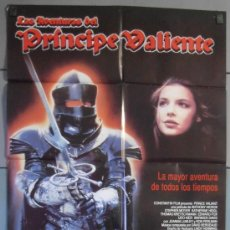 Cine: LAS AVENTURAS DEL PRINCIPE VALIENTE, CARTEL DE CINE ORIGINAL 70X100 APROX (6049). Lote 34806534