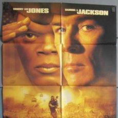 Cinema: REGLAS DE COMPROMISO,TOMMY LEE JONES, SAMUEL L JACKSON CARTEL DE CINE ORIGINAL 70X100 APROX (6060). Lote 34806681