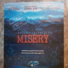 Cine: MISERY. JAMES CAAN, KATHY BATES.. Lote 34857800