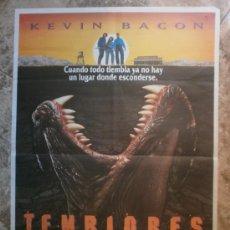 Cine: TEMBLORES. KEVIN BACON, FRED WARD, FINN CARTER, MICHAEL GROSS. AÑO 1990.. Lote 34857912