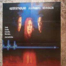Cine: LINEA MORTAL. KIEFER SUTHERLAND, JULIA ROBERTS, KEVIN BACON. AÑO 1990.. Lote 34898107