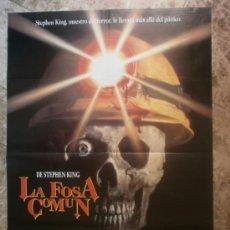 Cine: LA FOSA COMUN. STEPHEN KING'S, GRAVEYARD SHIFT, DAVID ANDEWS. AÑO 1990.. Lote 34898155
