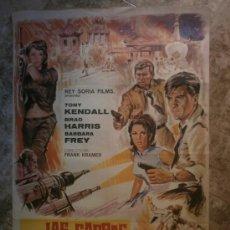 Cine: LAS GARRAS DEL DRAGON ROJO - TONY KENDALL, BRAD HARRIS, BARBARA FREY. AÑO 1967. Lote 86713452