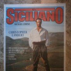 Cine: EL SICILIANO. CHRISTOPHER LAMBERT, TERENCE STAMP. . Lote 34936785