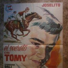 Cine: EL SECRETO DE TOMY - JOSELITO, FABIENNE DALI, FERNANDO CASANOVA - AÑO 1963. Lote 119077775